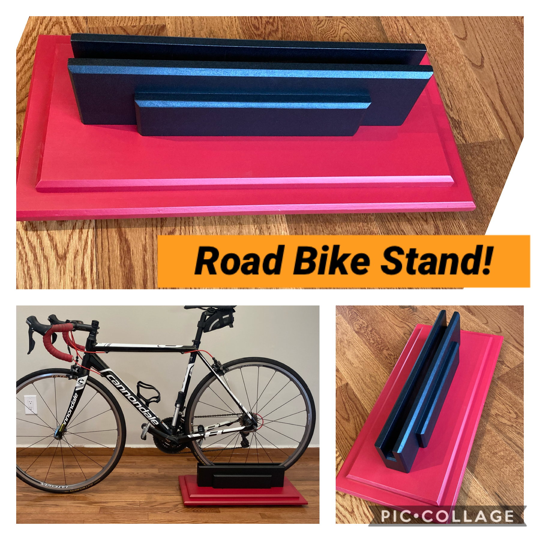 DIY Road Bike Stand