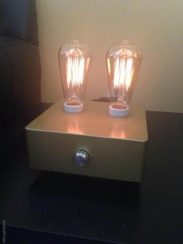 Dimmer Edison Lamp Gold